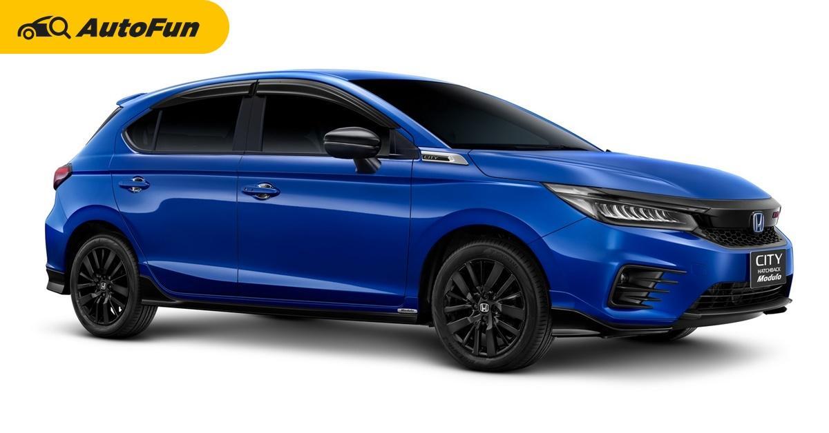 2021 Honda City Hatchback e:HEV เปิดตัวครั้งแรกในโลก ตอกย้ำไฮบริดกับค่าตัว 8.49 แสนบาท 01