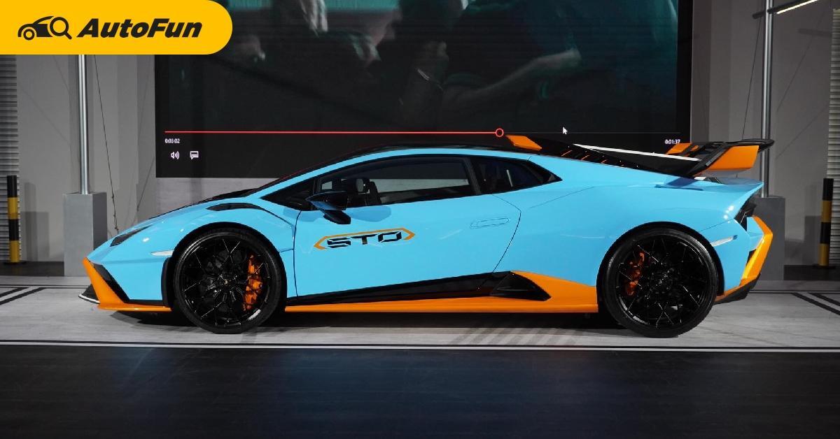 ชมคันจริงในไทย 2021 Lamborghini Huracan STO เล็ก-แรง-เบา เปิดราคา 29.99 ล้านบาท 01