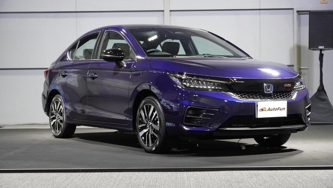 2021 Honda City e:HEV RS Exterior 069