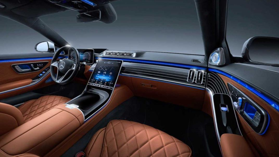 2021 Mercedes-Benz S-Class Interior 001