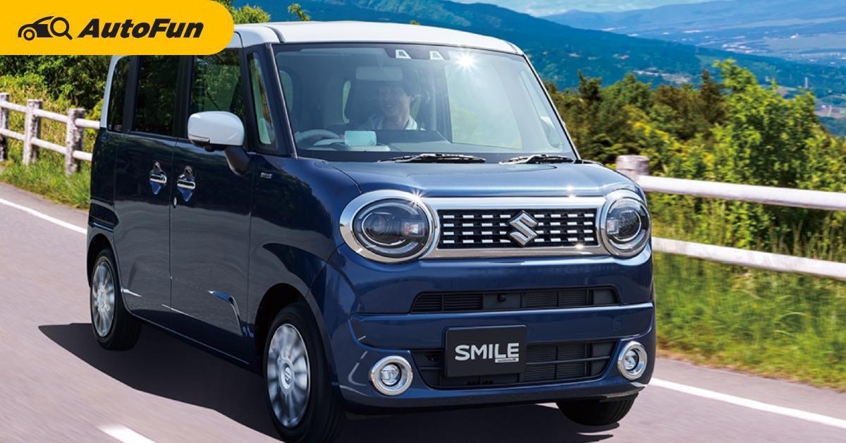 2021 Suzuki Wagon R เผยภาพโฉมใหม่ หน้าตาคิกขุ แต่ไม่ขายไทยในราคา 400,000 บาทแน่นอน 01