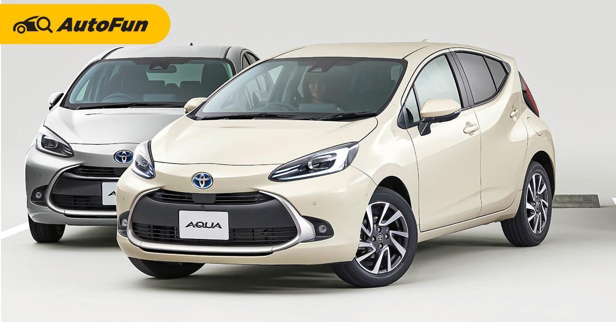 เผย 2022 Toyota Yaris ใหม่ใช้ขุมพลังไฮบริด หน้าอาจคล้าย Toyota Aqua คันนี้ 01