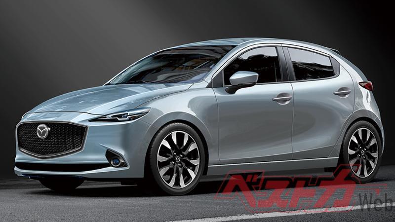 All-New 2021 Mazda 2 เปิดตัวแน่นอนกันยายนนี้ ลือหึ่งมาพร้อมขุมพลังไฮบริด 02