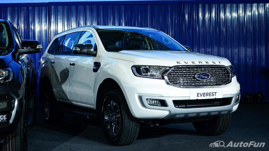 2021 Ford Everest Titanium+ Exterior 005