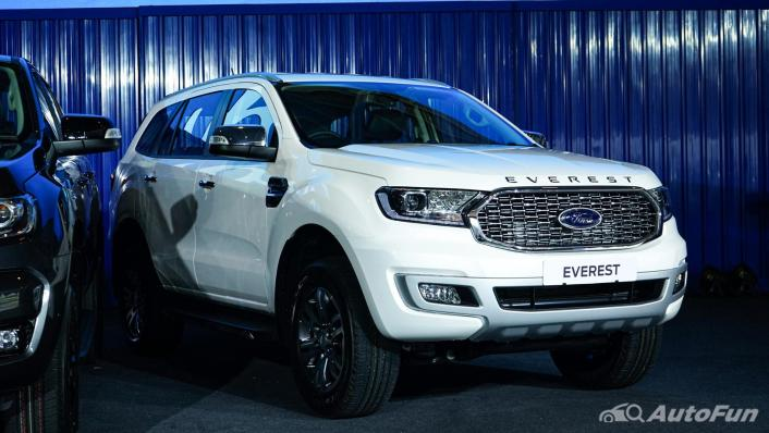 2021 Ford Everest Titanium+ Exterior 005