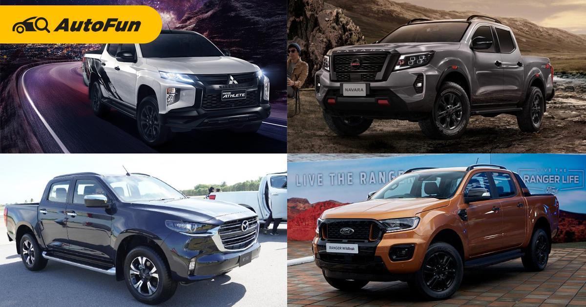 2021 Mazda BT-50 ดีพอไหมชิงที่ 3 ท้าชน Mitsubishi Triton, Nissan Navara และ Ford Ranger 01