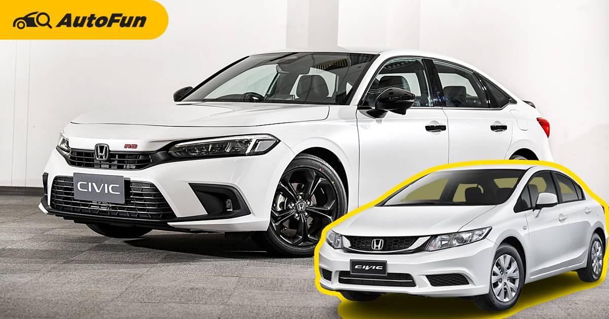 เจ้าของรถ Honda Civic FB มีเหตุผล 8 ข้อ ที่ควรเปลี่ยนรถเป็น 2021 Honda Civic FE ได้แล้ว 01