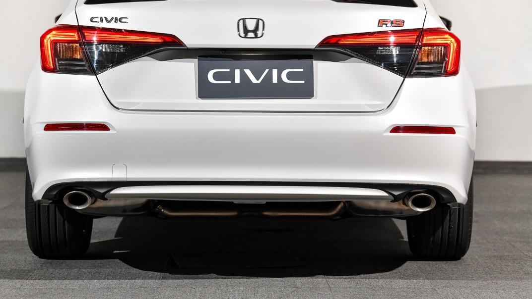 2022 Honda Civic RS Exterior 027