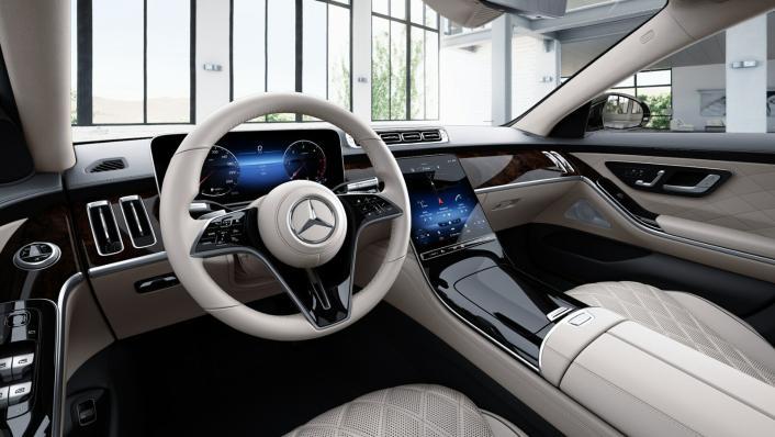 2021 Mercedes-Benz S-Class S 350 d Exclusive Interior 001
