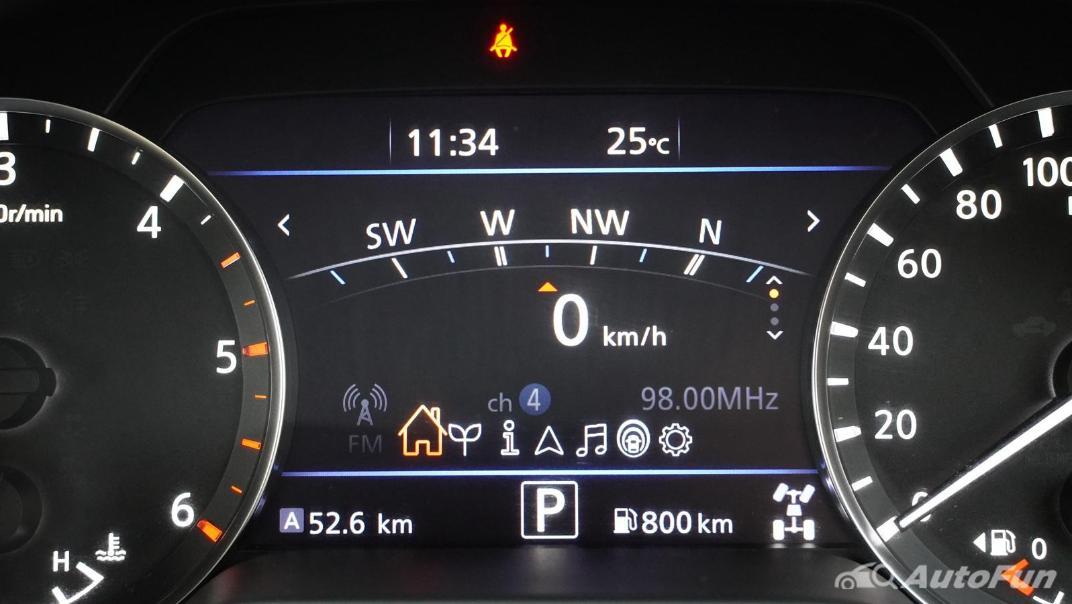 2021 Nissan Navara Double Cab 2.3 4WD VL 7AT Interior 015