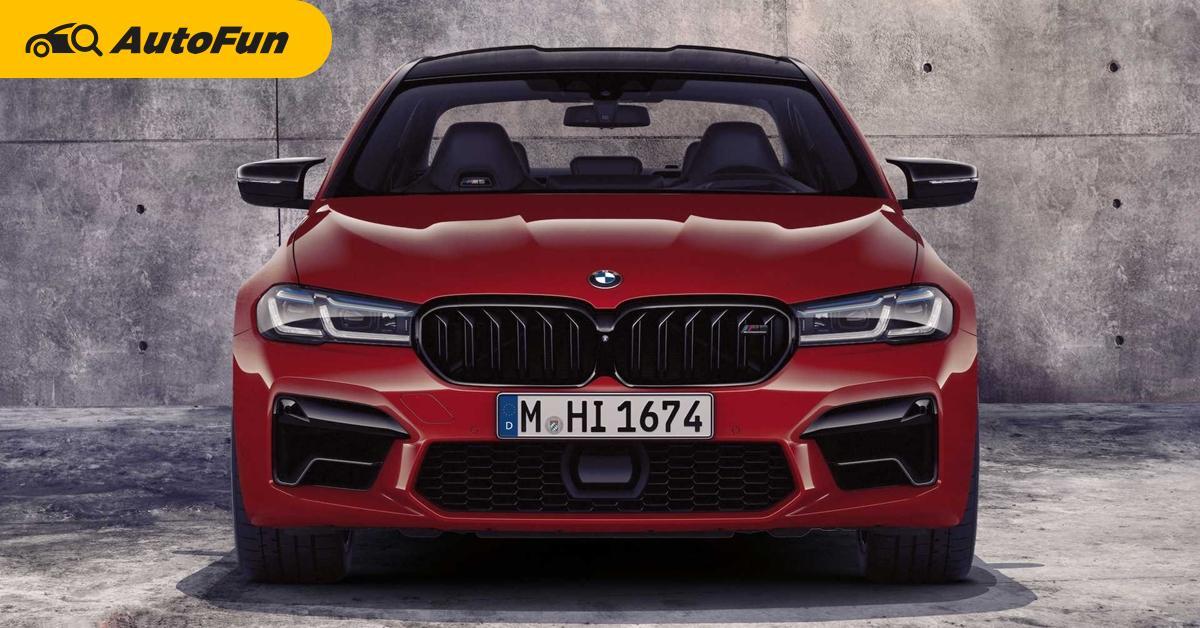 BMW M5 จะใช้ไฟฟ้าล้วน ชาร์จพลังได้ 1,000 แรงม้า เตรียมเปิดตัวปี 2024 01