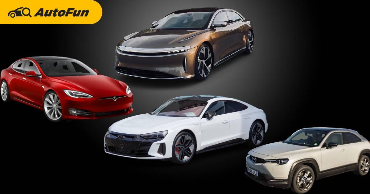 จัดอันดับ EV วิ่งไกลสุด-สั้นสุด รวมทุกรุ่นที่มีขายทั่วโลก แล้วรถที่ขายในไทย ติดอันดับเท่าไหร่ ? 01