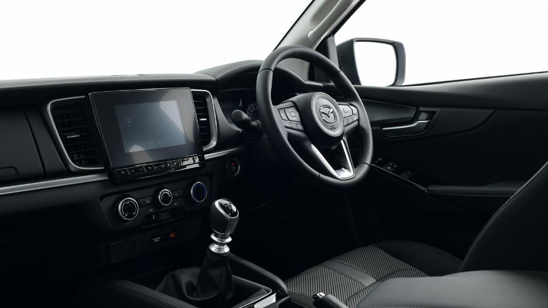 2021 Mazda BT-50 Freestyle cab Upcoming Version Interior 003