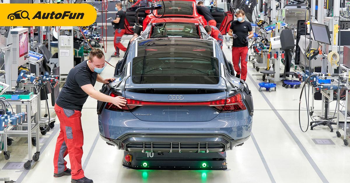 เป็นไปได้? ผู้บริหาร Audi ชี้รถพลังไฟฟ้าจะมีแบตเตอรี่เล็กลงในอนาคต 01