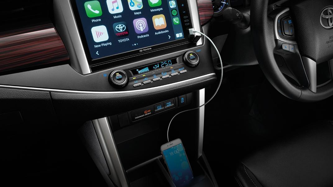 2021 Toyota Innova Crysta Interior 007