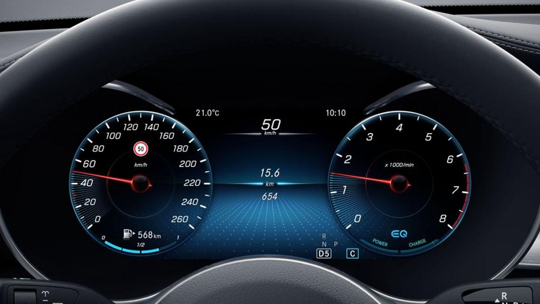 Mercedes-Benz GLC-Class 2020 Interior 011