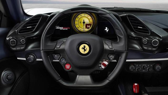 2020 Ferrari 488 Pista Spider 3.9 V8 Interior 002