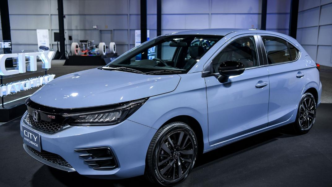 2021 Honda City Hatchback 1.0 Turbo RS Exterior 001