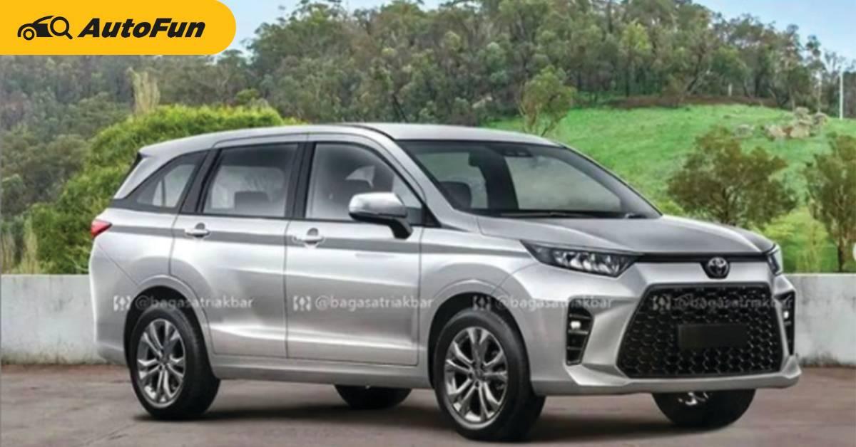แบบนี้จะสู้ Mitsubishi Xpander ได้ไหม ถ้า 2022 Toyota Avanza มีหน้าตาแบบนี้? 01