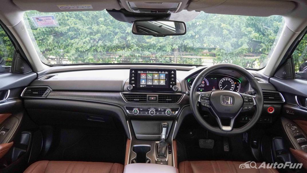 2020 Honda Accord Hybrid Tech Interior 001