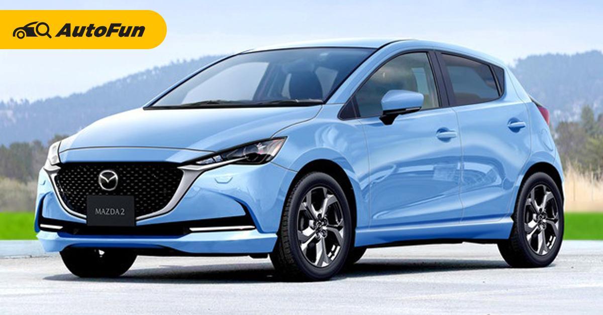 ข่าวล่ามาแรง 2022 Mazda 2 เปิดตัวไตรมาส 2 ปีหน้า มาพร้อมเวอร์ชั่นไฮบริด! 01