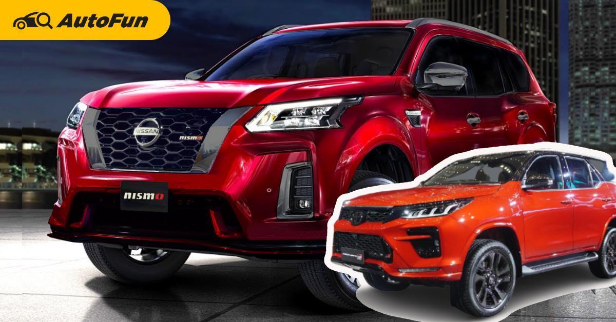 Rendered : 2022 Nissan Terra Nismo แต่งสปอร์ตจากโรงงาน เอาไว้ข่ม Toyota Fortuner GR Sport 01