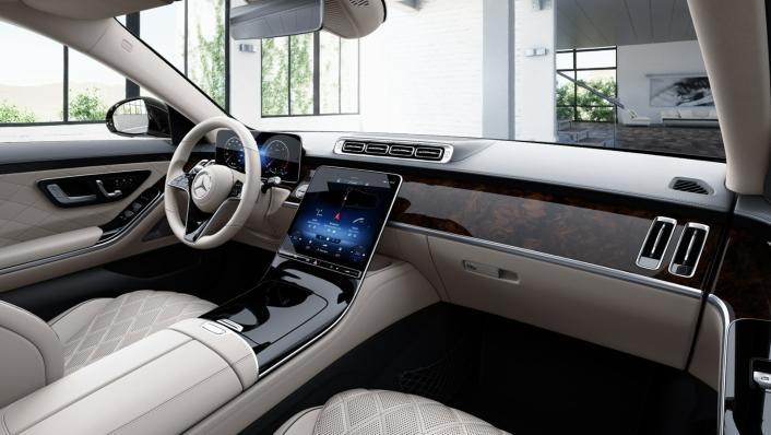 2021 Mercedes-Benz S-Class S 350 d Exclusive Interior 002