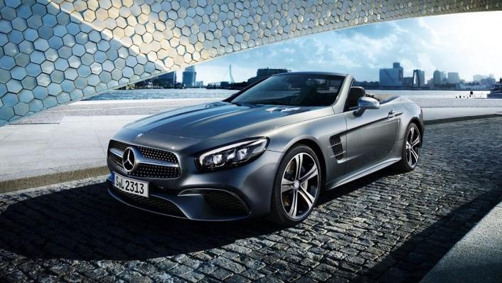 Mercedes-Benz Sl Roadster 2020 Exterior 003