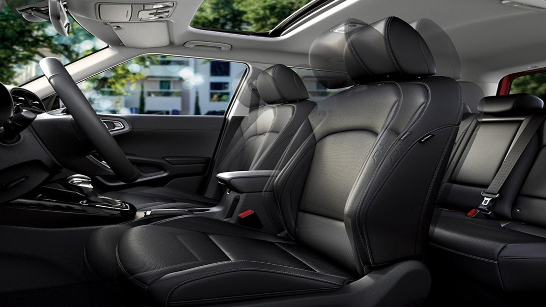 Kia Soul EV 2020 Interior 004