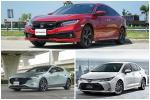 2021 Honda Civic นำโด่งยอดขาย C-Segment เดือนมีนาคม 2564 ด้วย 1,593 คัน