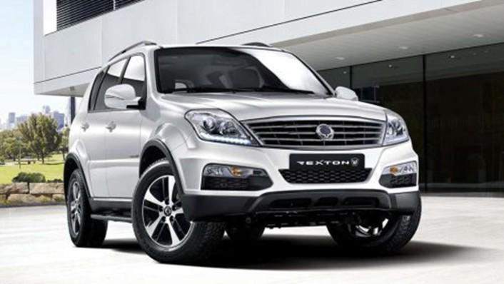 Ssangyong Rexton-W 2020 Exterior 009