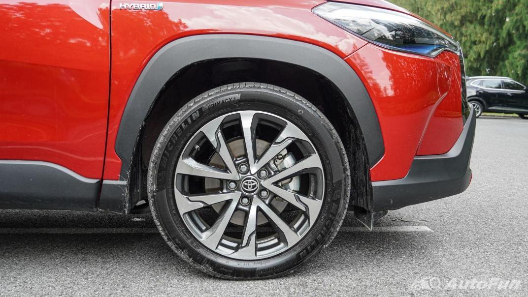 2020 Toyota Corolla Cross 1.8 Hybrid Premium Safety Exterior 048