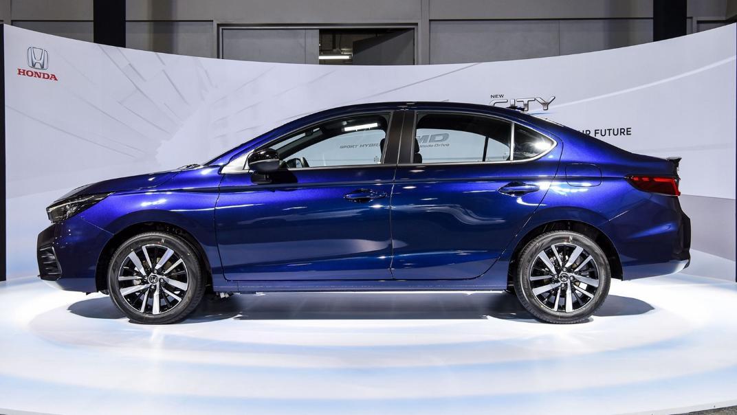 2021 Honda City e:HEV RS Exterior 053