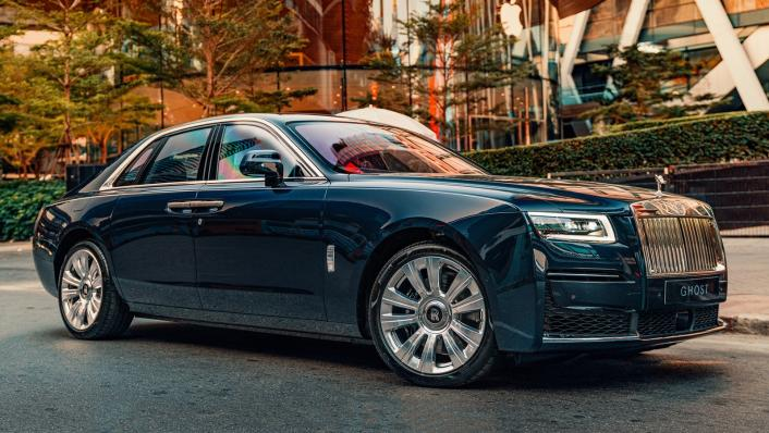 2021 Rolls Royce Ghost Exterior 003