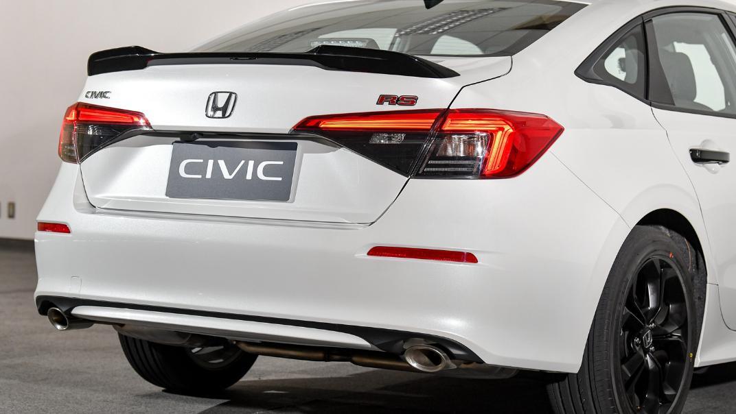 2022 Honda Civic RS Exterior 032