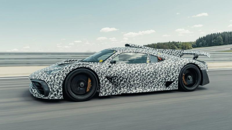Mercedes-AMG Project ONE ปล่อยภาพรถทดสอบสยบข่าวลือ กับสเปคเครื่อง F1 กำลังเกิน 1,000 แรงม้า 02