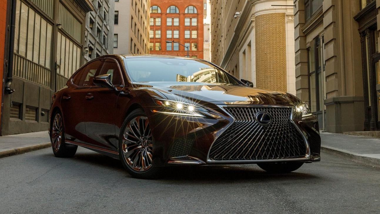 Lexus LS 2020 Exterior 023