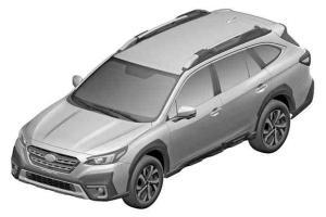 ภาพสิทธิบัตร 2022 Subaru Outback Legacy คาดเครื่องยนต์ 177 แรงม้า 300 นิวตันเมตร เข้าไทยน่าจะ 2 ล้านต้น ๆ