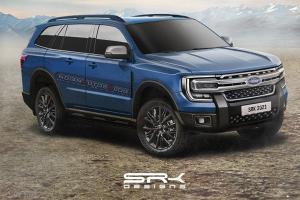 เรนเดอร์ 2022 Ford Everest ถอดแบบจากสปายช็อตใส่หน้า F-150 ดุดันกว่าเดิมหลายเท่า