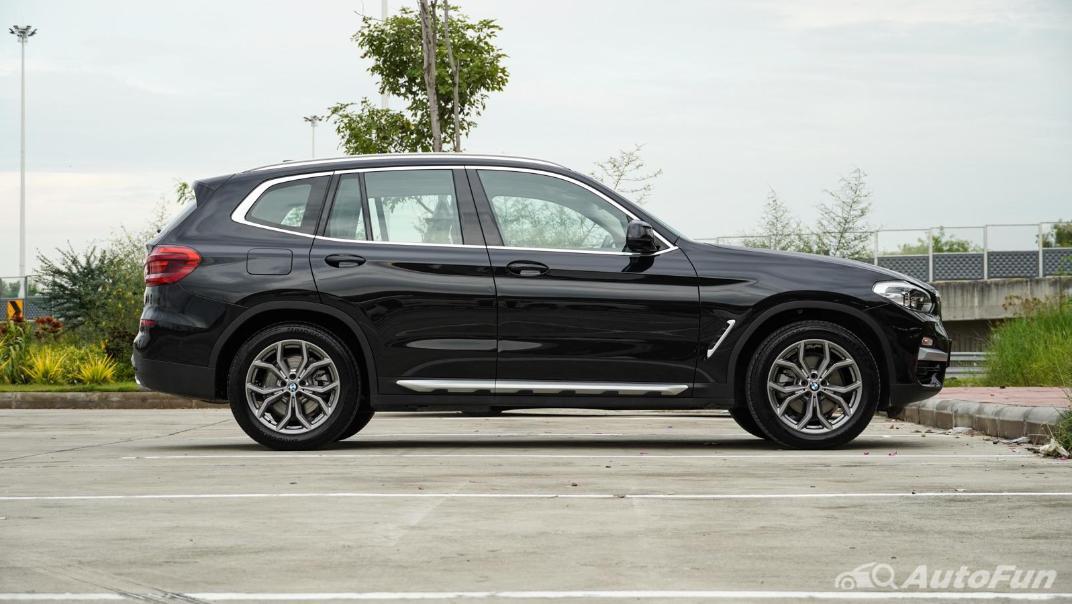 2020 2.0 BMW X3 xDrive20d M Sport Exterior 004