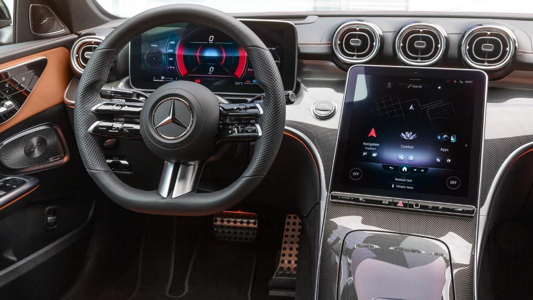 2021 Mercedes-Benz C-Class W206 Upcoming Version Interior 007