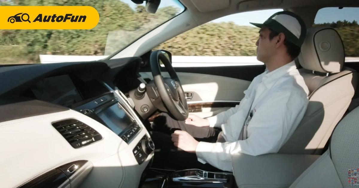 รถยนต์หรือคนขับต้องรับผิดชอบ? หากระบบขับขี่อัตโนมัติ Honda Sensing Elite เกิดอุบัติเหตุ 01