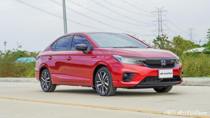 2021 Honda City e:HEV RS Exterior 003