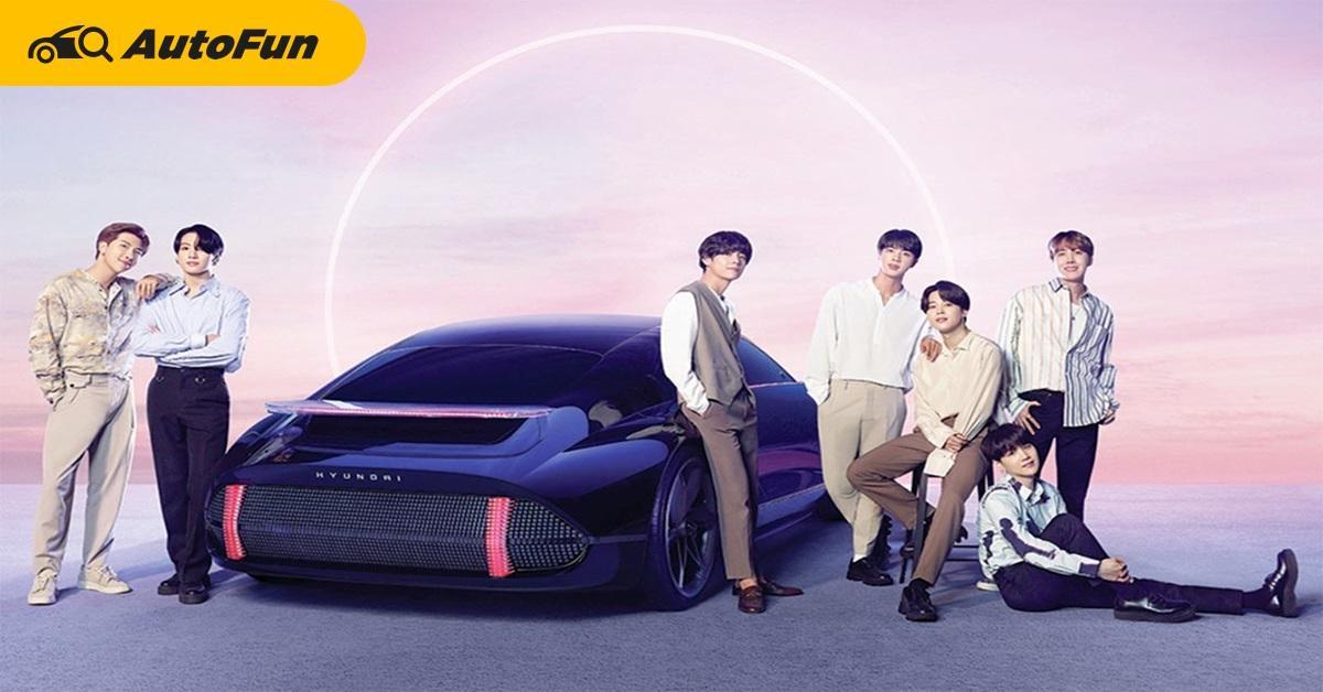Hyundai x BTS เปิดตัวซิงเกิ้ล IONIQ: I'm on it โปรโมทรถยนต์ไฟฟ้า 01