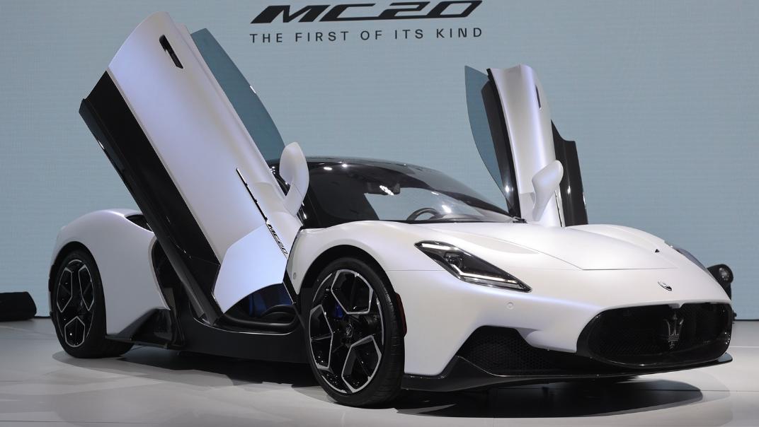 2021 Maserati MC20 Standard Exterior 007