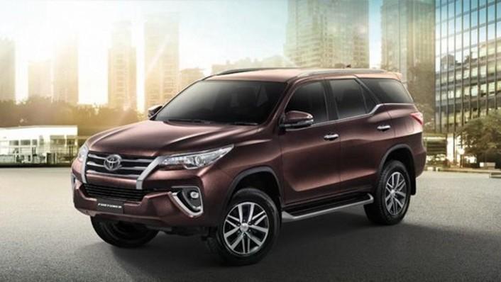 Toyota Fortuner 2020 Exterior 002