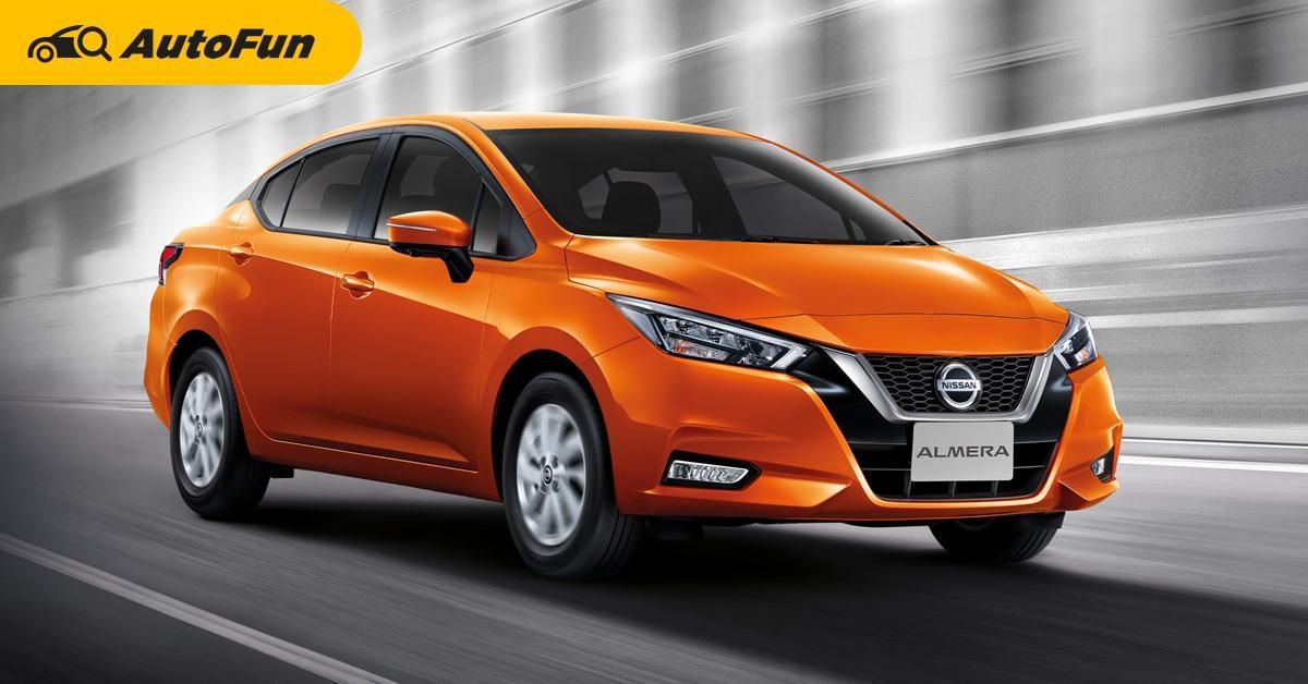 2020 Nissan Almera ออกโปรดอกเบี้ย 0% ผ่อน 48 เดือน ค่างวดจะเหลือเท่าไหร่กันแน่ ? 01