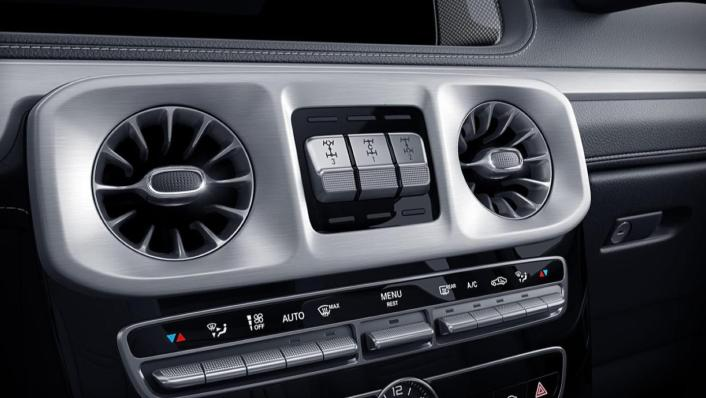 Mercedes-Benz G-Class Public 2020 Interior 002