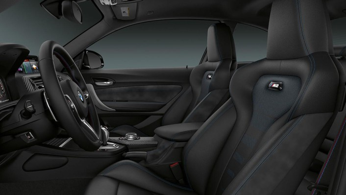 BMW M2-Coupe Public 2020 Interior 001