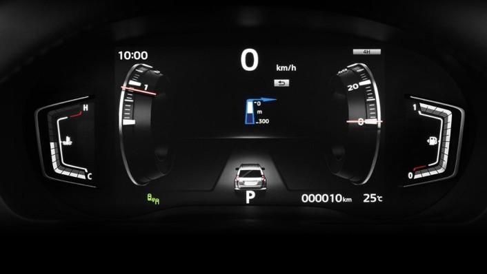 Mitsubishi Pajero Sport Public 2020 Interior 008